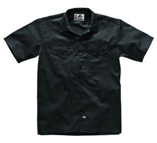 Dickies Short Sleeve Work Shirt - Black