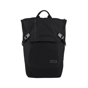"AEVOR Black Eclipse Backpack with  15"" laptop pocket, black"