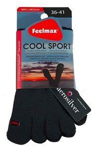 Feelmax Cool Sport urheiluvarvassukat (korkea) - Musta