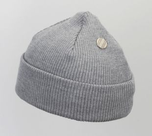 Costo Nipa Grey 100% Wool Beanie