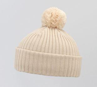 Costo Wipi Beige 100% Wool Beanie