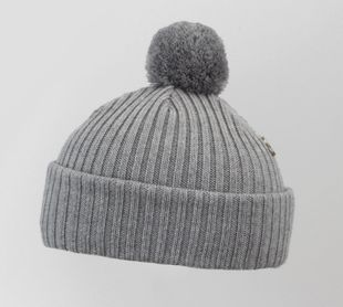 Costo Wipi Melange Grey 100% Wool Beanie