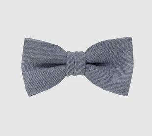 Costo Alotau Pure Waste Reverse Blue 100 % Recycled Denim Bow Tie