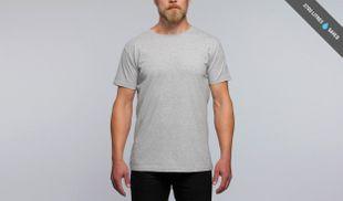 Pure Waste T-Shirt - Grey Melange