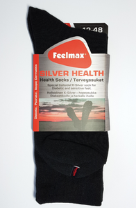 Feelmax Silver Health sukat - Musta