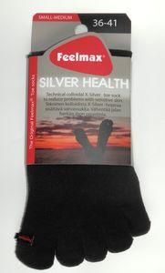 Feelmax Silver Health varvassukat - Musta