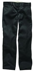 Dickies Slim Straight Work Pant - Black