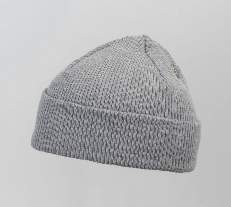 Costo Nipa Grey 100% Wool Beanie