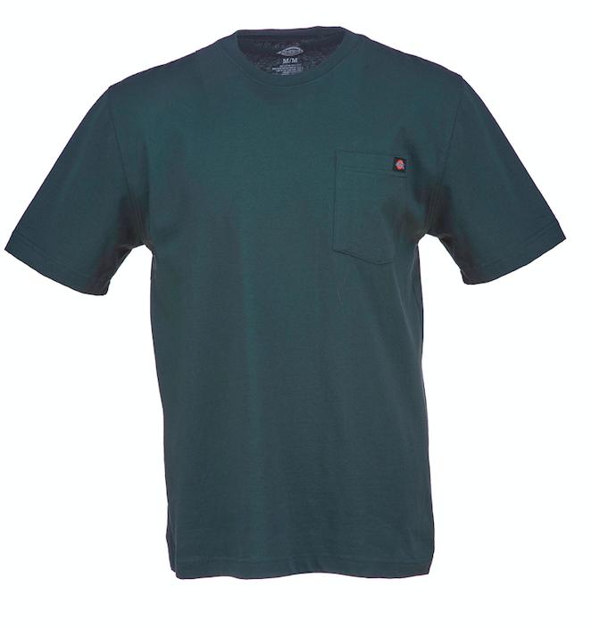Dickies Heavy weight Pocket T-Paita vihreä