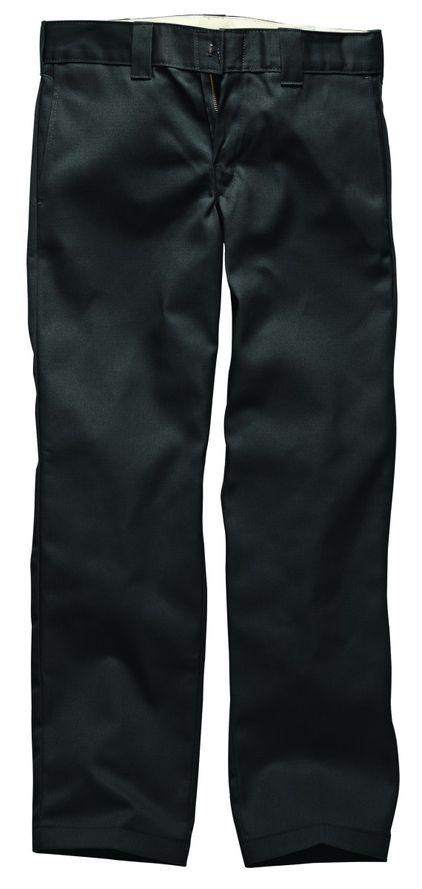 Dickies Slim Straight Work Pant - Black