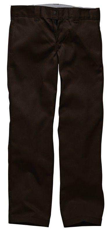 Dickies Slim Straight Work Pant - Chocolate Brown