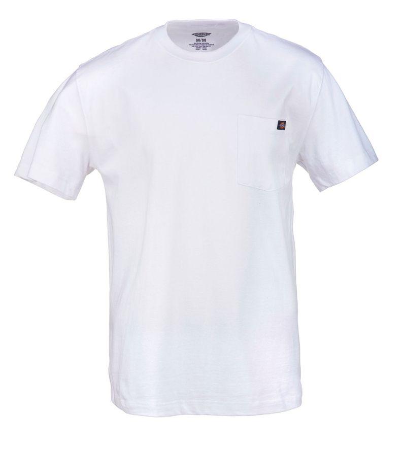 Dickies Heavy weight Pocket T-Paita valkoinen